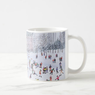 Skating Rink Central Park New York 1994 Classic White Coffee Mug