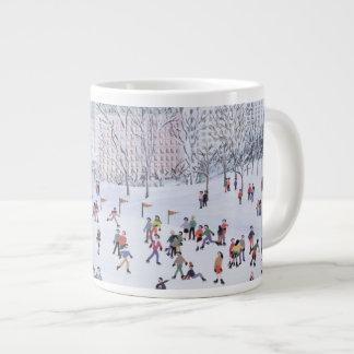 Skating Rink Central Park New York 1994 20 Oz Large Ceramic Coffee Mug