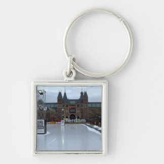 Skating rink, Museumplein, Amsterdam Key Chains