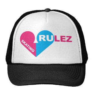 skating rulez hats