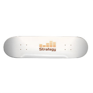 skating strategy style skateboard deck