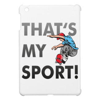 Skating - that's my sport/Case Case For The iPad Mini