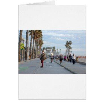 skating to venice beach card