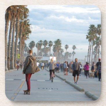 skating to venice beach coaster