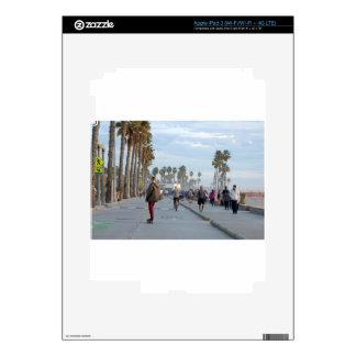 skating to venice beach iPad 3 decals