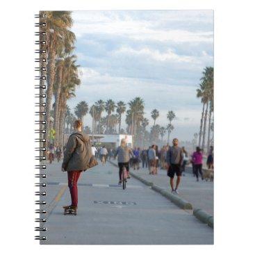 Beach Themed skating to venice beach notebook