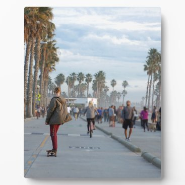Beach Themed skating to venice beach plaque