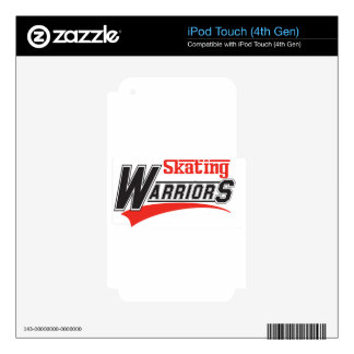 skating warriors design iPod touch 4G skin