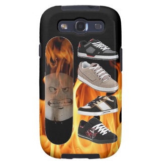 Skating with Fire - Samsung Galaxy S3 Case