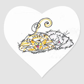 SKCAT LOVE STICKER