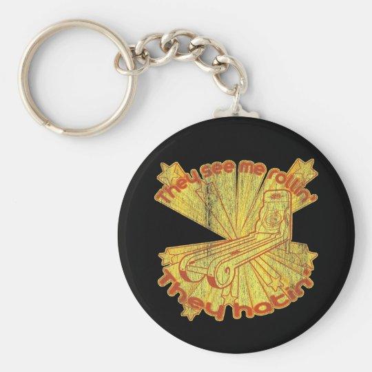 Skee Ball Hatin Keychain