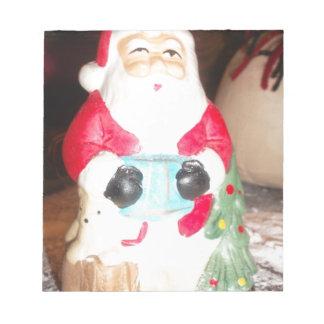Skeezer cute Santa Claus.JPG Notepad