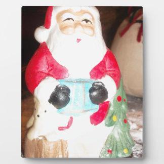 Skeezer cute Santa Claus.JPG Plaque