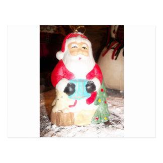 Skeezer cute Santa Claus.JPG Postcard