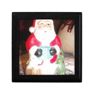 Skeezer Papá Noel lindo .JPG Joyero Cuadrado Pequeño