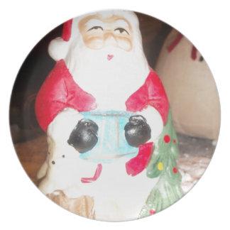 Skeezer Papá Noel lindo .JPG Platos Para Fiestas