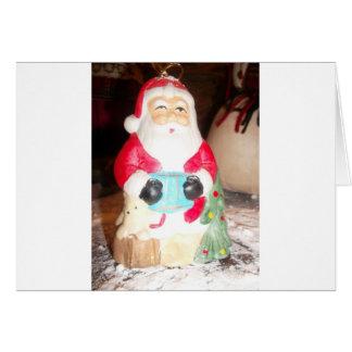 Skeezer Papá Noel lindo .JPG Tarjeta De Felicitación