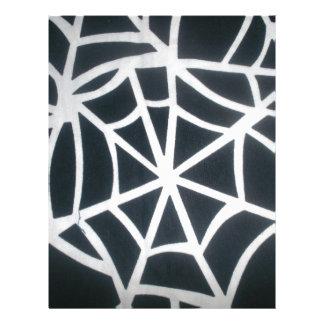 Skeezer White and Black Stripes Black and White St Letterhead