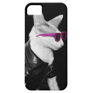 Skeezix el caso del gato iPhone5 - gato del motori iPhone 5 Funda