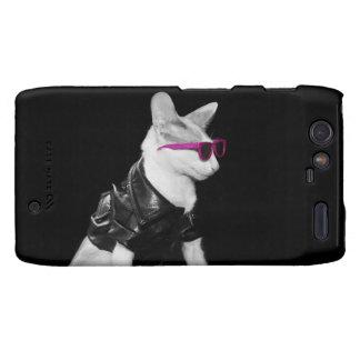 Skeezix the Cat Droid Razr Skin Motorola Droid RAZR Case