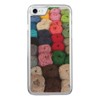 Skeins of yarn carved iPhone 8/7 case