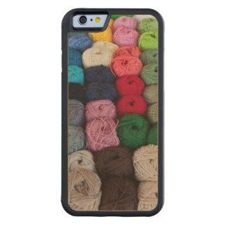 Skeins of yarn carved® maple iPhone 6 bumper case