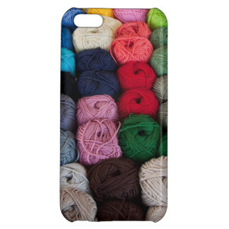Skeins of yarn cover for iPhone 5C