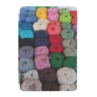 Skeins of yarn iPad mini cover