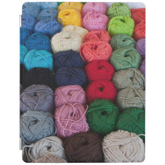 Skeins of yarn iPad cover