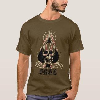 Skel Pinstripe Long Sleve T-Shirt