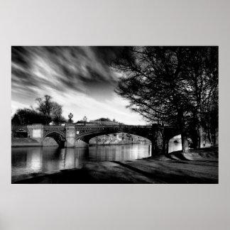 Skeldergate Bridge, York Poster