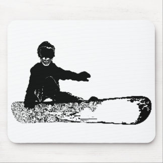 skeleboard mouse pad