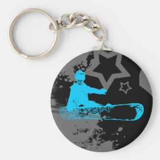 skeleboarder. keychain
