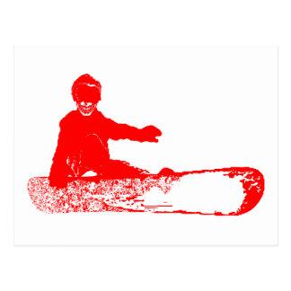 skeleboarder. postcard