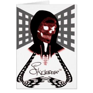 Skelepose Acessories Tarjeta De Felicitación
