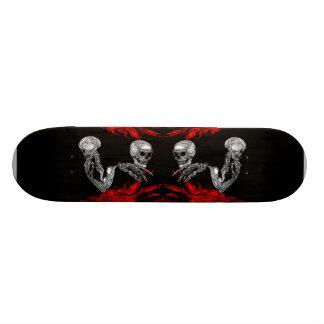 Skelepose Flame Skateboard