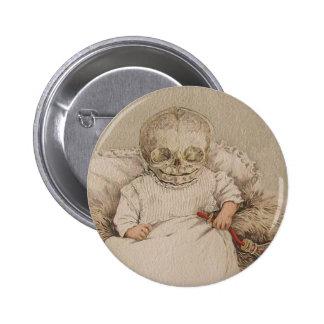 Skeletal Baby Pinback Buttons