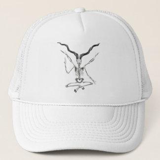 Skeletal Baphomet Hat