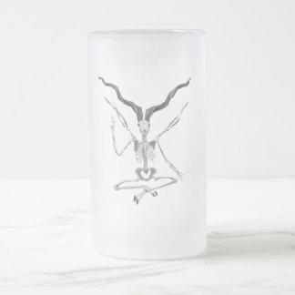 Skeletal Baphomet Mug