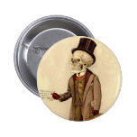 Skeletal Doctor 2 Inch Round Button