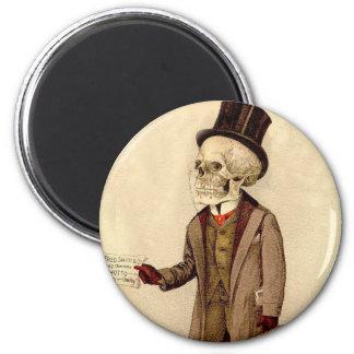 Skeletal Doctor 2 Inch Round Magnet