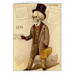 Skeletal Doctor Greeting Card