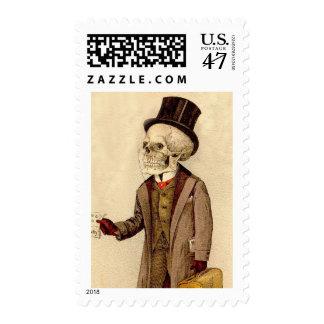Skeletal Doctor Postage