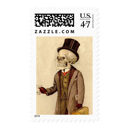Skeletal Doctor Stamp