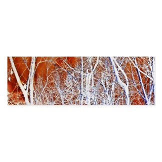 Skeletal Forest II Mini Business Card