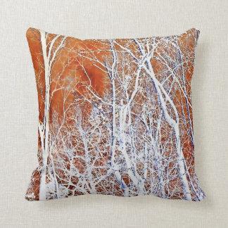 Skeletal Forest II Throw Pillow