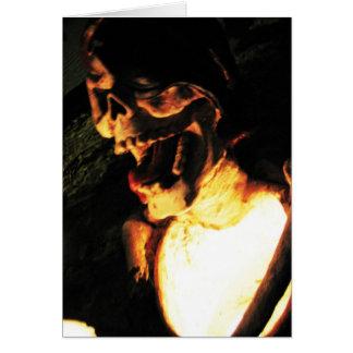 Skeletal Glow Card