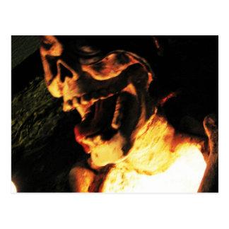 Skeletal Glow Postcard