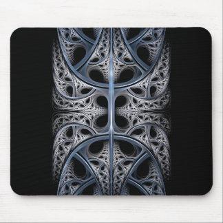 Skeletal Hall fractal art Mouse Pad