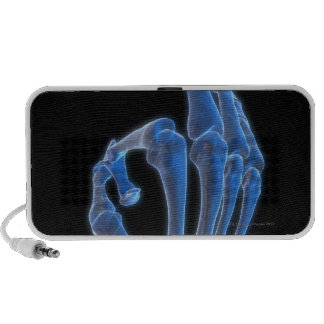 Skeletal Hand Gesture iPod Speakers